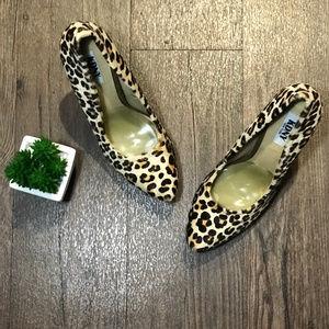 KDNY Kelsi Dagger NY | Leopard Print Heels | 8